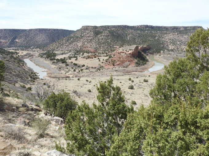 Canadian River, Mills Canyon, Kiowa National Grasslands, NM