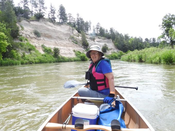 Eileen, Niobrara River, NE