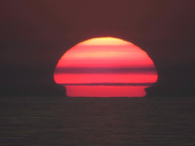Sunset over Lake Superior, Lake Superior PP, ONT