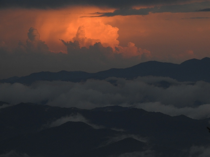 Storm over Clingmans Dome, Great Smoky Mountains NP, NC