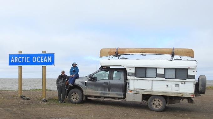 ELK, BWK, camper, Arctic Ocean, Tuktoyaktuk, NWT